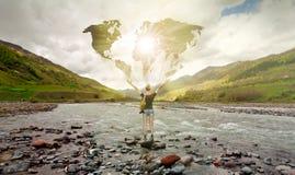 podróżnik Fotografia Stock