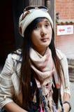 Podróżnik w Durbar kwadracie przy Kathmandu Nepal Zdjęcie Royalty Free