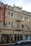 Podróżnika hotelu Salinas Zdjęcia Royalty Free