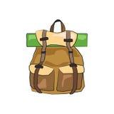 Podróż plecak Obrazy Stock