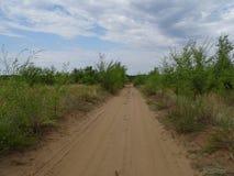 Podróż przez Rosja Otoczenia Orenburg Zdjęcie Royalty Free