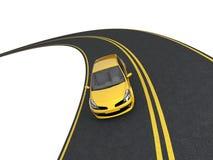 podróż samochodowa Fotografia Stock