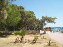 Podróż Turcja, Beldibi Antalya Fotografia Stock