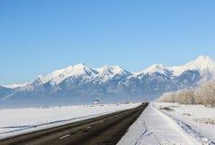 Podróż w zimie Zdjęcia Stock