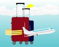 Podróży i wakacje ilustracje Obraz Royalty Free