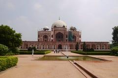 Podróży India, Humayuns tumba - Zdjęcia Stock