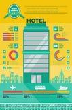 Podróży Infographic szablon. Fotografia Royalty Free