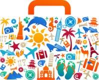Podróży walizka - 2 Obraz Stock