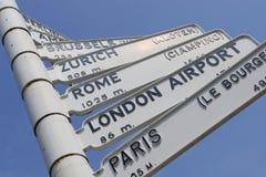podróż europejskiej Zdjęcie Stock
