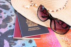 podróż plażowa Zdjęcie Stock