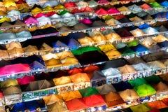 Podridão Fai Night Train Market de Ratchada Imagem de Stock