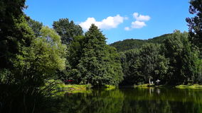 Podryba lake stock video