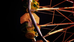 Pods on the Ferris Wheel stock video footage