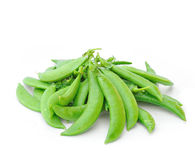 Pods of green peas sweet Royalty Free Stock Images