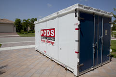 PODS (portable on demand storage) Stock Photography