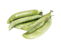 Pods of vegetable green peas Stock Photography