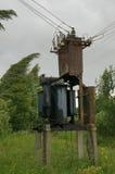 podstacja elektryczna zdjęcia stock