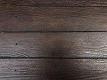 Podstawowa drewniana antykwarska podłoga w brown cienia i cienia tła prostym obrazku Zdjęcie Stock