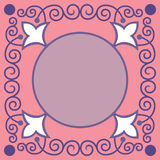 Podstawowa ornamentacyjna granica Fotografia Royalty Free