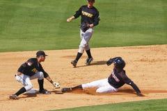 podstawowy baseball podstawowy kraść oznaczającym Zdjęcie Royalty Free