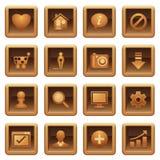 podstawowy ikon serii sieć Obraz Royalty Free