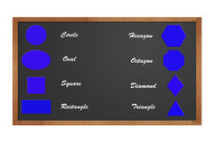 podstawowy kształty Obrazy Stock