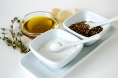 podstawy kulinarne Obrazy Stock