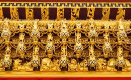 podsufitowa chińska świątynia Obraz Stock