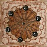 Podsufitowa dekoracja selimiye meczet zdjęcie royalty free
