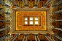 podsufitowa kongresu dc biblioteka Washington Zdjęcia Stock