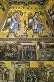 Podsufitowe mozaiki Florencja Baptistery Obraz Stock