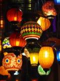 Podsufitowego światła Asia lampowy tradycyjny styl Fotografia Royalty Free