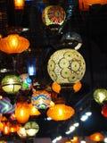 Podsufitowego światła Asia lampowy tradycyjny styl Zdjęcie Royalty Free
