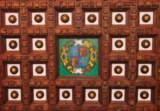 podsufitowy drewniany Obraz Royalty Free