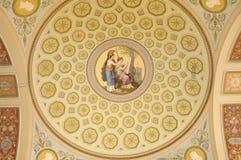 podsufitowy fresk Fotografia Royalty Free