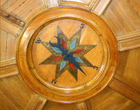 podsufitowy kompas. Fotografia Stock
