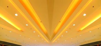 Podsufitowych świateł graficzny projekt Fotografia Royalty Free