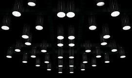 Podsufitowych świateł projekt Obraz Stock