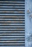 Podsumowanie błękitna żaluzja obrazy royalty free