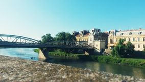 Podul de Fier - Iron Bridge royalty free stock image