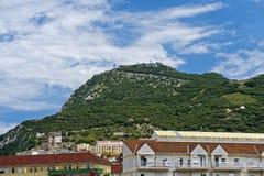 Podupadła część śródmieścia Gibraltar Obraz Royalty Free