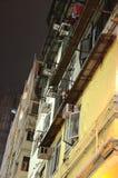 Podupadła Część Śródmieścia Hong Kong Zdjęcia Royalty Free
