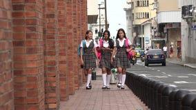 Podupadłej Części Śródmieścia szkoły średniej ucznie Zdjęcie Royalty Free