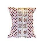 Poduszka ozdabiająca z koralikami Zdjęcia Royalty Free