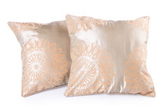 Poduszka. poduszka na tle Obrazy Royalty Free