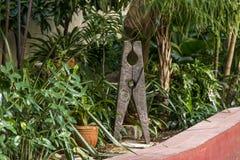 Podwórze stary kolonisty dom - Kuba obraz royalty free