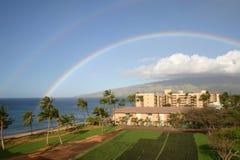 podwójna 75 rainbow Fotografia Royalty Free