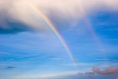 podwójna rainbow Zdjęcie Royalty Free