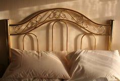 podwójne łóżko Zdjęcie Royalty Free