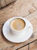 podwójne espresso zdjęcia stock